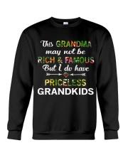 This Grandma May Not Be Rich And Famous Crewneck Sweatshirt thumbnail