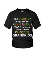 This Grandma May Not Be Rich And Famous Youth T-Shirt thumbnail