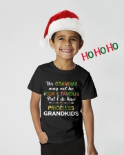 This Grandma May Not Be Rich And Famous Youth T-Shirt lifestyle-holiday-youth-front-1