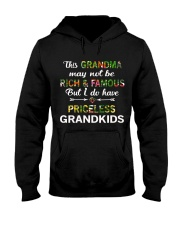 This Grandma May Not Be Rich And Famous Hooded Sweatshirt thumbnail