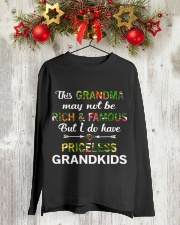 This Grandma May Not Be Rich And Famous Long Sleeve Tee lifestyle-holiday-longsleeves-front-2