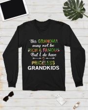 This Grandma May Not Be Rich And Famous Long Sleeve Tee lifestyle-unisex-longsleeve-front-6