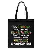 This Grandma May Not Be Rich And Famous Tote Bag tile