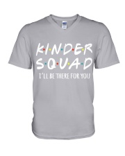 KINDER SQUAD - I'LL BE THERE FOR YOU V-Neck T-Shirt thumbnail