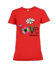 LOVE MIMI LIFE - ART Premium Fit Ladies Tee front