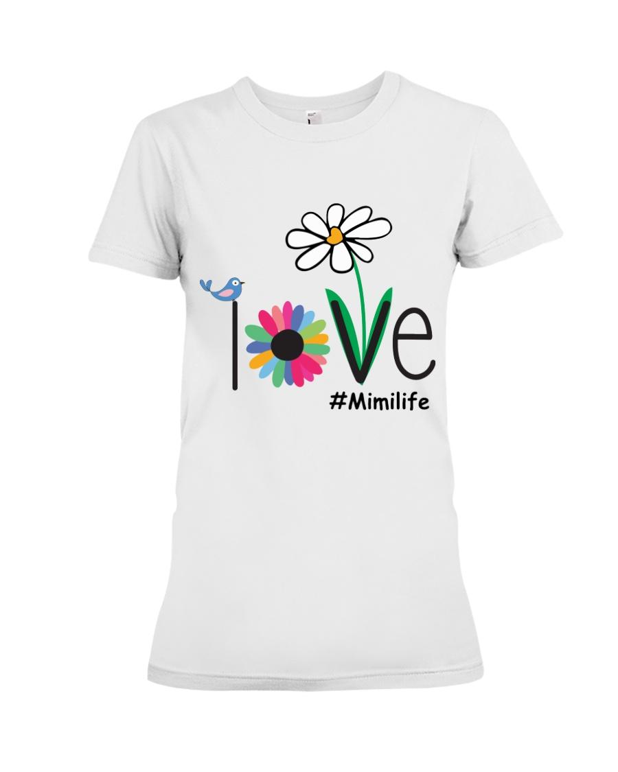 LOVE MIMI LIFE - ART Premium Fit Ladies Tee