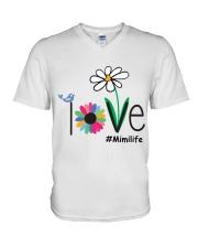 LOVE MIMI LIFE - ART V-Neck T-Shirt thumbnail