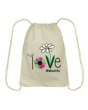 LOVE MIMI LIFE - ART Drawstring Bag thumbnail