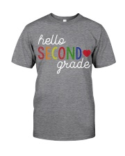 HELLO SECOND GRADE Classic T-Shirt tile