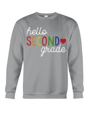 HELLO SECOND GRADE Crewneck Sweatshirt thumbnail