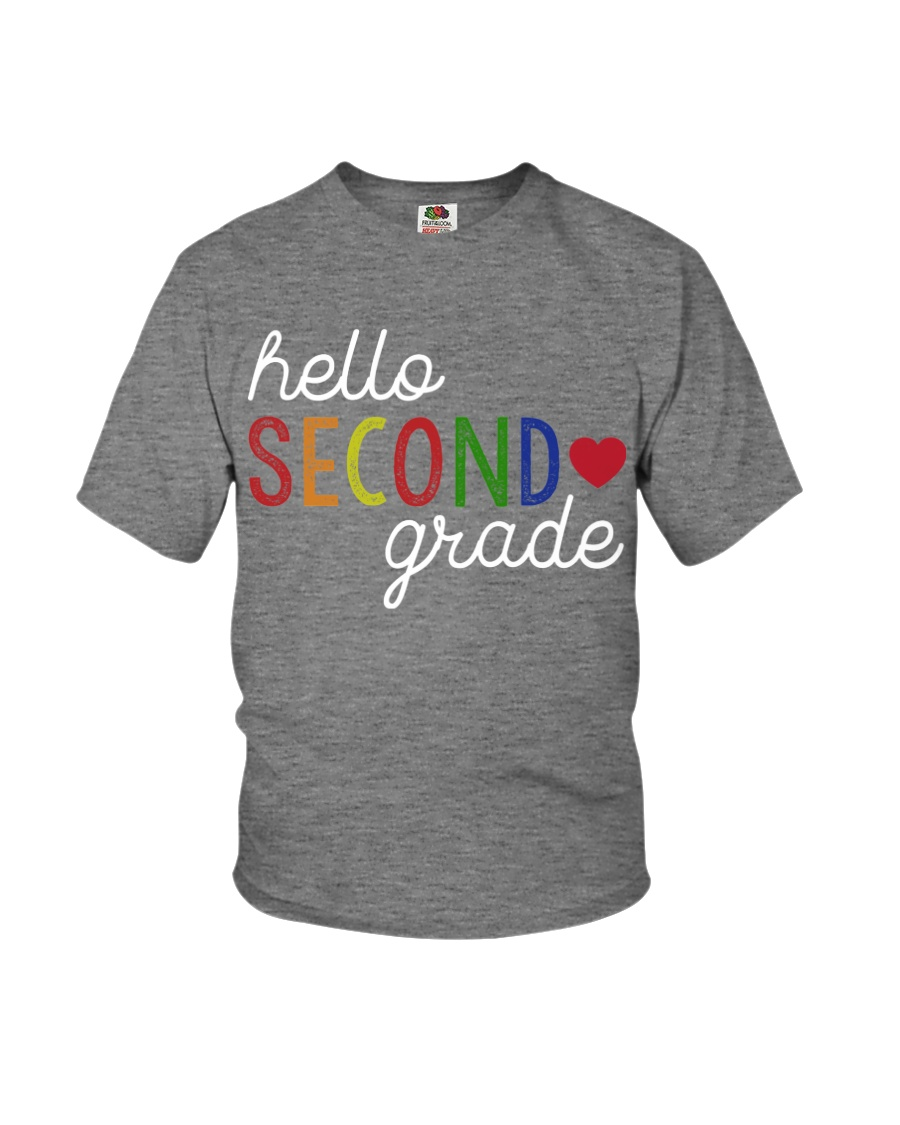 HELLO SECOND GRADE Youth T-Shirt