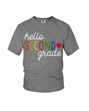 HELLO SECOND GRADE Youth T-Shirt front
