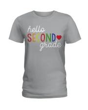 HELLO SECOND GRADE Ladies T-Shirt thumbnail