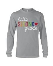 HELLO SECOND GRADE Long Sleeve Tee thumbnail
