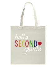 HELLO SECOND GRADE Tote Bag thumbnail