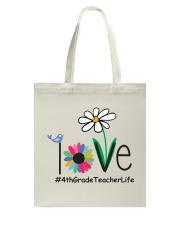 4TH GRADE TEACHER LIFE Tote Bag thumbnail