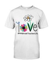 4TH GRADE TEACHER LIFE Classic T-Shirt thumbnail