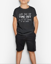 SCHOOL DAY - I'M NOT SCARED TO GO BACK Youth T-Shirt lifestyle-youth-tshirt-front-1