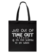 SCHOOL DAY - I'M NOT SCARED TO GO BACK Tote Bag thumbnail