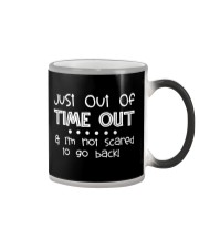 SCHOOL DAY - I'M NOT SCARED TO GO BACK Color Changing Mug thumbnail