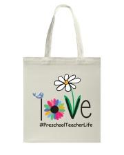 PRESCHOOL TEACHER LIFE Tote Bag thumbnail