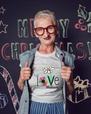 LOVE RIE-RIE LIFE - ART Ladies T-Shirt lifestyle-holiday-crewneck-front-3