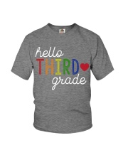 HELLO THIRD GRADE Youth T-Shirt front