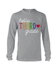 HELLO THIRD GRADE Long Sleeve Tee thumbnail