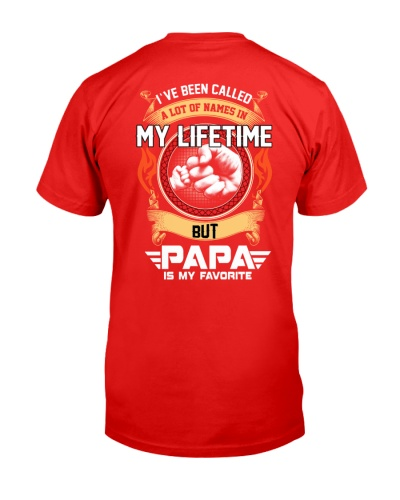 PAPA IS MY FAVORITE NAME