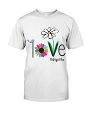 LOVE GIGI LIFE - ART Classic T-Shirt thumbnail