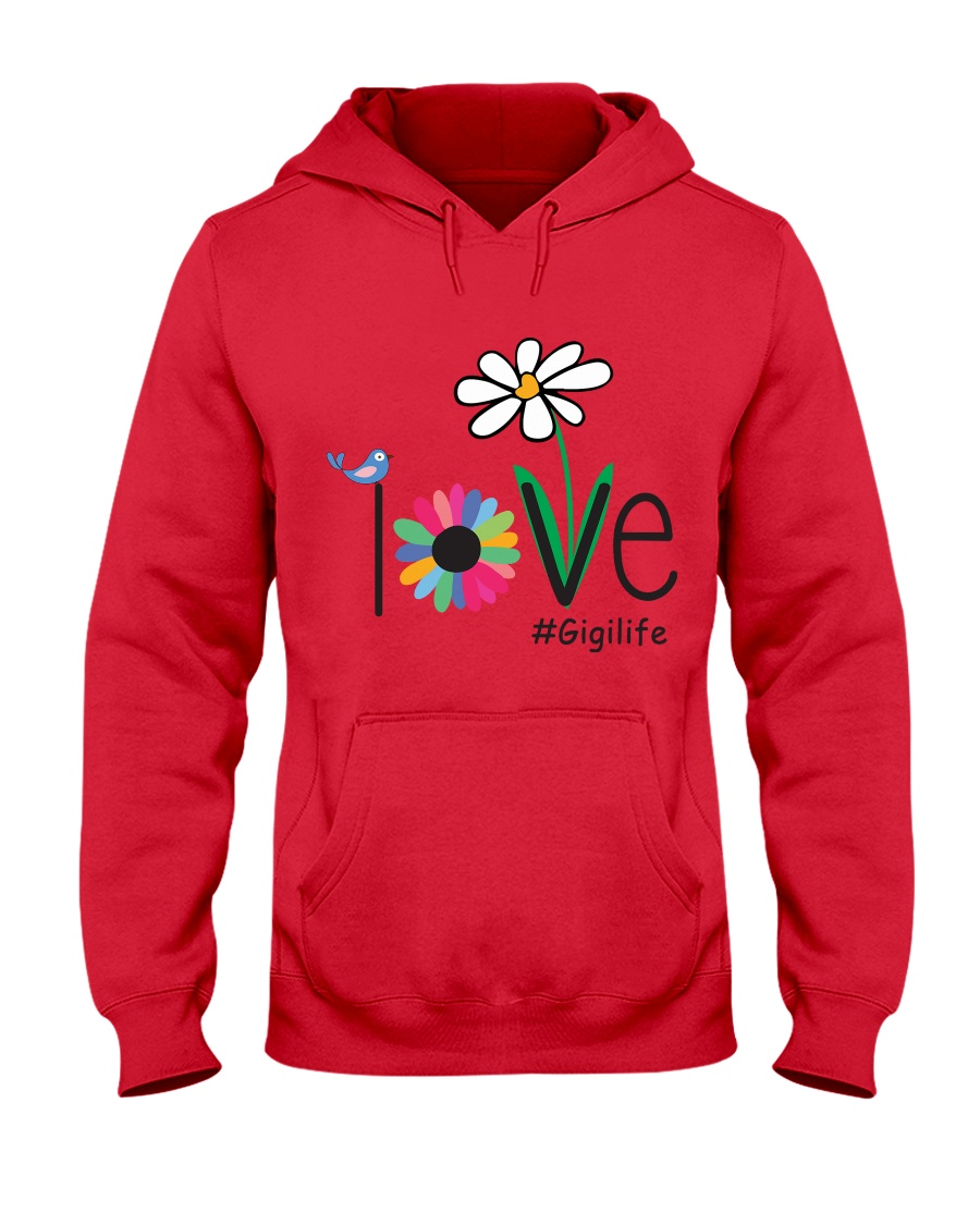 LOVE GIGI LIFE - ART Hooded Sweatshirt