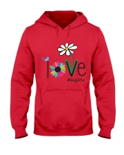 LOVE GIGI LIFE - ART Hooded Sweatshirt front