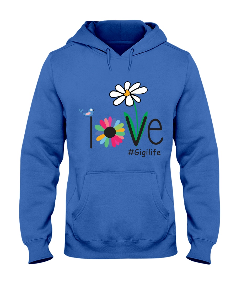 LOVE GIGI LIFE - ART Hooded Sweatshirt