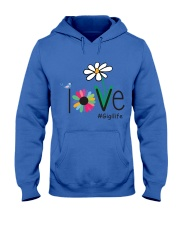 LOVE GIGI LIFE - ART Hooded Sweatshirt front