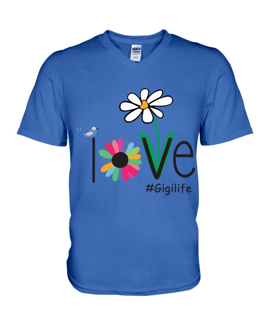 LOVE GIGI LIFE - ART V-Neck T-Shirt