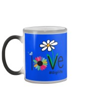 LOVE GIGI LIFE - ART Color Changing Mug color-changing-left