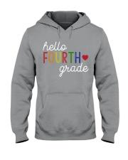 HELLO FOURTH GRADE Hooded Sweatshirt thumbnail
