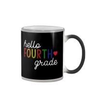 HELLO FOURTH GRADE Color Changing Mug thumbnail