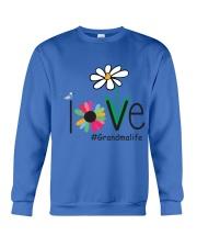 LOVE GRANDMA LIFE - ART Crewneck Sweatshirt front