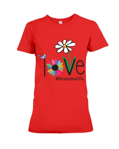 LOVE GRANDMA LIFE - ART
