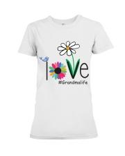 LOVE GRANDMA LIFE - ART Premium Fit Ladies Tee front