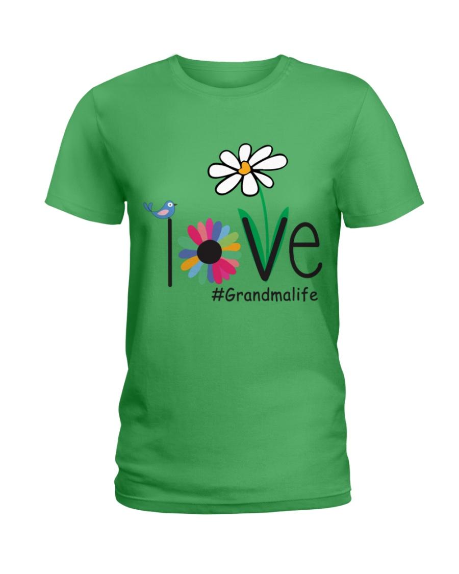 LOVE GRANDMA LIFE - ART Ladies T-Shirt