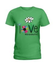 LOVE GRANDMA LIFE - ART Ladies T-Shirt front
