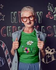LOVE GRANDMA LIFE - ART Ladies T-Shirt lifestyle-holiday-crewneck-front-3
