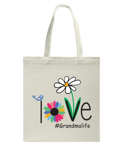 LOVE GRANDMA LIFE - ART