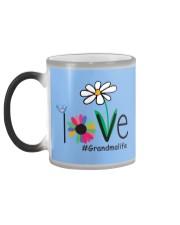 LOVE GRANDMA LIFE - ART Color Changing Mug color-changing-left