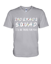 3RD GRADE SQUADE - I'LL BE THERE FOR YOU V-Neck T-Shirt thumbnail