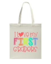 FIRST GRADERS - I LOVE YOU Tote Bag thumbnail