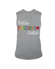 HELLO PRESCHOOL CUTIE Sleeveless Tee thumbnail