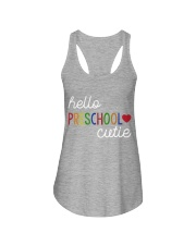 HELLO PRESCHOOL CUTIE Ladies Flowy Tank thumbnail